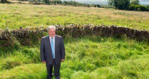 Fianna Fáil councillor  Bob Ryan in Matey, Co Cork, the proposed new boundary of Cork city currently 17km from the city. Photograph: Provision