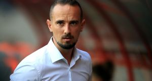 Mark Sampson has been sacked  as England women's football manager. Photograph: Mike Egerton/PA Wire.