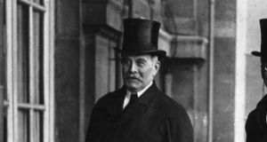 "In January 1924, British ambassador to Paris, Lord Crewe (above), said  papal nuncio to Paris, Msgr Bonaventura Cerretti, had  said  ""Republicans in Ireland must learn to submit to the will of the majority"". File photograph: Topical Press Agency/Getty Images"
