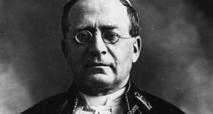 Pope Pius XI (Ambrogio Damiano Achille Ratti, 1857-1939), photographed in February 1922. File photograph: Topical Press Agency/Getty Images