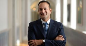 "Taoiseach Leo Varadkar said: ""When an economy is growing, we should balance the books and pay down our debt."" Photograph: Dara Mac Donaill /The Irish Times"