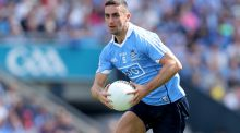 Dublin's James McCarthy: he has been  nominated for the Footballer of the Year award. Photograph: Oisin Keniry/Inpho