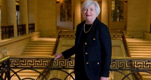 Fed chair Janet Yellen said the US central bank was ready to change the interest rate outlook if needed.