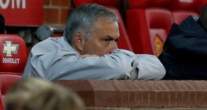 Manchester United manager Jose Mourinho has crticised a competition he won last year. Photograph: Reuters