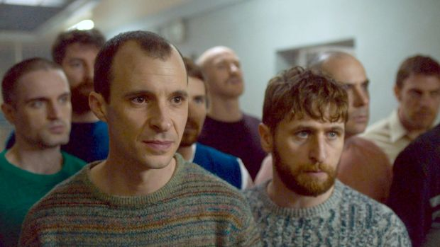 Martin McCann, Tom Vaughan-Lawlor and Aaron Monaghan in 'Maze'