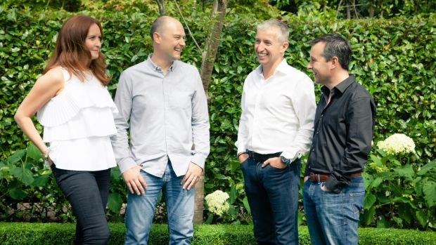 The OROKO team: Nicola Cox, Brendan Breen, Bob Haugh and Clive Kilmurray