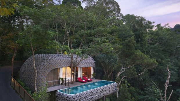 The Bird's Nest villa at Keemala Hotel, Phuket