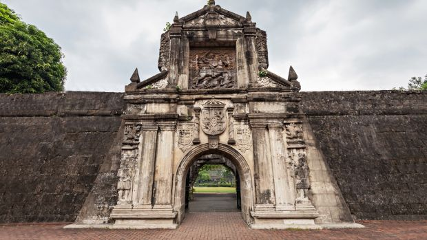 Fort Santiago in Manila's old town, or Intramuros. Photograph: Getty Images