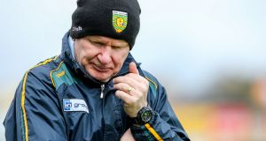 Declan Bonner looks set to be managing Donegal in 2018. Photograph: Philip Magowan/Inpho