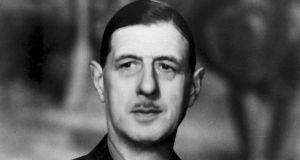 Gen Charles de Gaulle: To survive, Europe needs a return to big politics in the style of the French militarist, and Helmut Kohl, Jacques Delors and François Mitterrand. Photograph: PA Wire