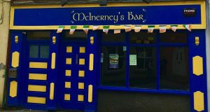 McInerney's pub in Ennistymon, Co Clare.