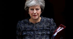 British Prime Minister Theresa May: hopes her keenly anticipated speech in Italy will help to break the deadlock in Brexit negotiations. Photograph: Peter Nicholls/Reuters