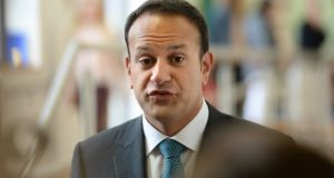 "Taoiseach Leo Varadkar said his Government believed in a ""culture of aspiration"" and wanted to help those who feel ""they pay for everything but get little in return"". Photograph: Dara Mac Dónaill"