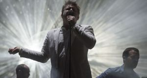 Any tickets lads? LCD Soundsystem's James Murphy on stage at Electric Picnic last year. Photograph: Dave Meehan