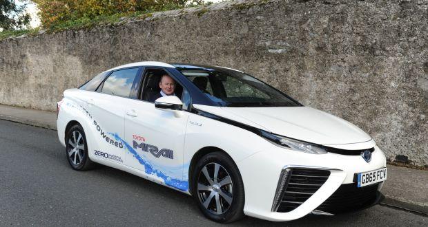 The Hydrogen Ed Toyota Mirai Photograph Aidan Crawley