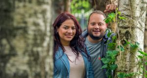 Gaby Patiño and Max Martínez who came to Ireland from Venezuela last year. Photograph: Michael Mac Sweeney/Provision