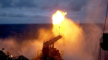 Eyewitness footage captures gas flaring at Corrib gas field