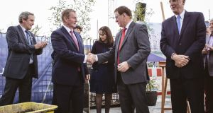 """I can testify to the quality of the work that Cannon & Cannon will do here,"" Enda  Kenny said in Berlin. ""We have a lot to learn from the way Germany has moved in housebuilding: insulation, efficiency, emissions."""