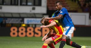Rangers'  new signing Alfredo Morelos looked lively midweek against  Partick Thistle, but then again it was against Partick Thistle. Photograph: Jeff Holmes/PA Wire