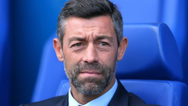 Rangers manager Pedro Caixinha remains a curious choice to be in charge of such a vast institution. File photograph: Richard Sellers/PA Wire