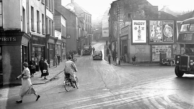 Barrack Street, Cork in the 1950s. Photograph: courtesy of Evening Echo