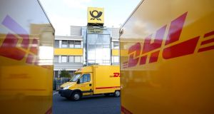 Logistics company DHL has launched a legal challenge Friday against a Labour Court ruling that it must pay one of its former drivers over €72.000 for unfairly dismissing him from his job. Photograph: Ralph Orlowski/Bloomberg