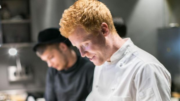 Chef Mark Moriarty: he will fly into Dublin to team up with Francesco Mazzei, chef patron at Sartoria in London, for La Sagra, a local food festival in the Italian style. Photograph: Igor Rodin