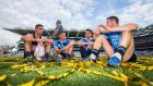 James McCarthy, Paul Flynn, Bernard Brogan and Dean Rock: they  all grew up in an era when All-Ireland success routinely eluded Dublin.  Photograph: Tommy Dickson/Inpho