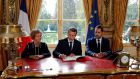 Macron signs labour law but has to lower senate ambitions