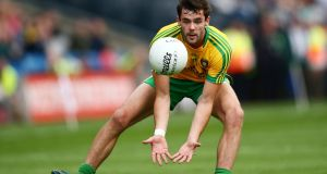 Odhrán Mac Niallais is set to return to the Donegal side   under Declan Bonner.  Photograph: Cathal Noonan/Inpho