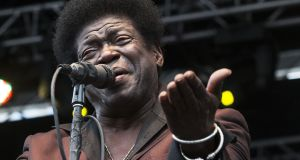 Charles Bradley performing in Atlanta, Georgia, in 2014. the singer dies on Saturday aged 68. Photograph: Ron Harris/AP