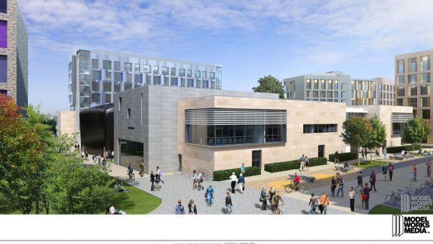 The proposed Roebuck Castle and Roebuck Precinct at University College Dublin.