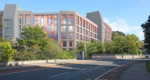 The proposed new UCD student accommodation  in the Roebuck Castle and Roebuck Precinct.