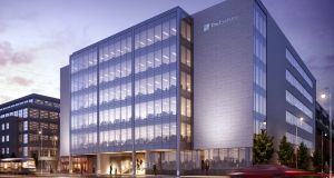 The Exchange, which will be the first new-build office space to be completed in Dublin's  IFSC since 2003.