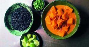 Nigella Lawson's butternut and sweet potato curry