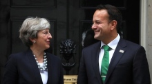 Brexit the hot topic as Varadkar meets May in London