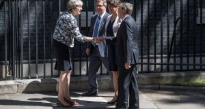 'The Tories have stabbed the DUP not in the back, but in the front.' Photograph: Carl Court/Getty Images