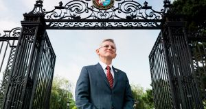 "Professor Patrick O'Shea, president of University College Cork: ""We are committed to ensuring that UCC becomes the location of choice for Irish and international students."""