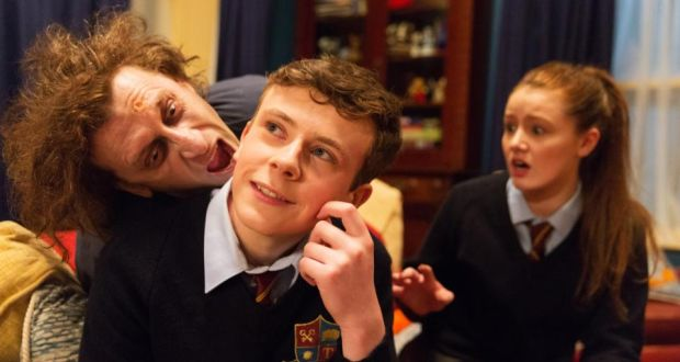 Drop dead quite funny: an Irish zombie comedy for teenagers