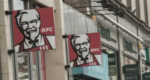 KFC is set for a major expansion in Northern Ireland following a refinancing there by franchise holder, The Herbert Group.  Photograph: Brenda Fitzsimons