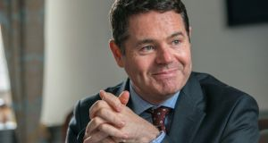 Minister for Finance Paschal Donohoe: there is little he could do, politically, to benefit his own Diageo holding even if he wanted to. Photograph: Brenda Fitzsimons