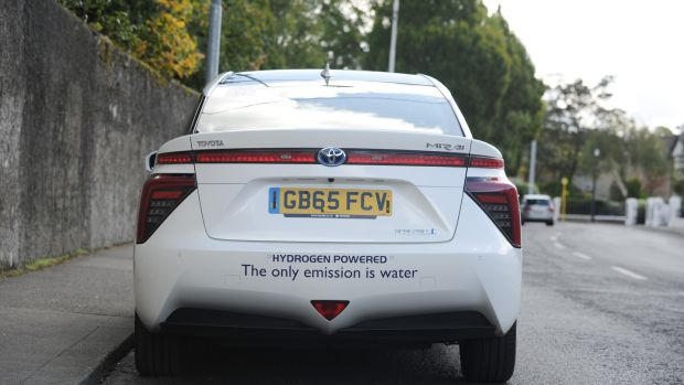 The EU has committed more than €650 million to help expand hydrogen infrastructure. Photograph: Aidan Crawley