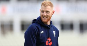 England international   Ben Stokes was arrested after an incident in Bristol early on Monday and released without charge. Photograph:  Tim Goode/PA Wire