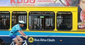 An analysis of bus journeys on the north and south quays showed substantial time savings.