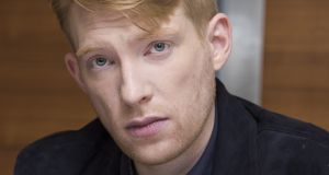 "Irish actor Domhnall Gleeson on Goodbye Christopher Robin: ""I suspect the reviews will go many different ways. But I've seen people weeping in a cinema watching it. That's hard to do."" Photograph:   Vera Anderson/WireImage"