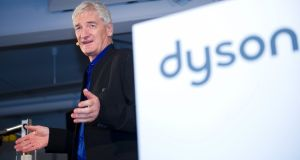 "Dyson founder James Dyson: ""We know this is a crowded market."""