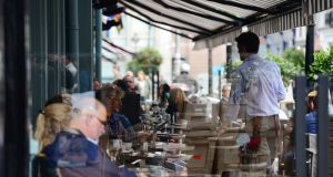 The Restaurants Association of Ireland says employment in the sector has grown by 33 per cent since 2011. Photograph: Bryan O'Brien