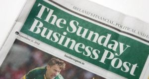 The Sunday Business Post has been put up for sale   by Key Capital, which took control of it in 2013. Photograph: Bryan O'Brien