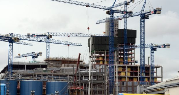 Conference delegates heard  the Irish population is expected to grow to 6 million by 2040 with Cork, Galway, Limerick and Waterford increasing in size by 50 per cent which would necessitate half a million homes being built. Photograph: Cyril Byrne