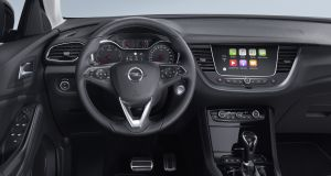 Inside the Grandland X's cabin Opel has delivered a conventional experience with a familiar Opel dash layout that conservative buyers will instantly accept